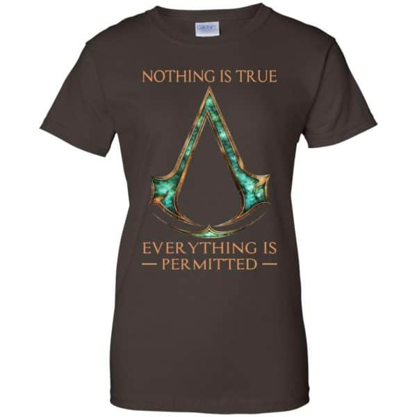 Nothing Is True Everything Is Permitted Shirt, Hoodie, Tank Apparel 12