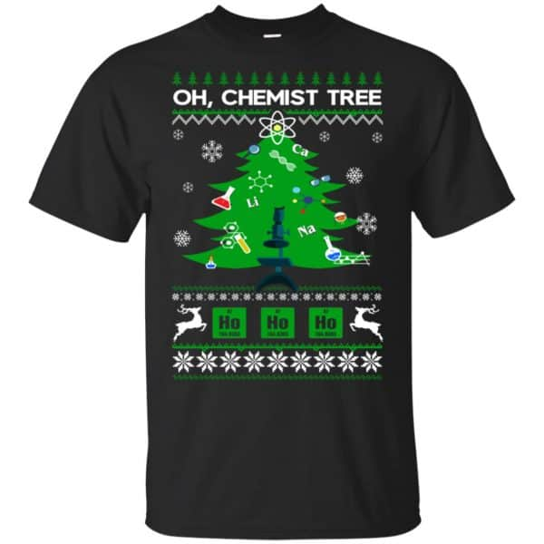 Oh Chemist Tree Ugly Christmas Sweater, T-Shirts, Hoodie Apparel 3