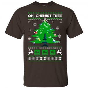 Oh Chemist Tree Ugly Christmas Sweater, T-Shirts, Hoodie Apparel 2