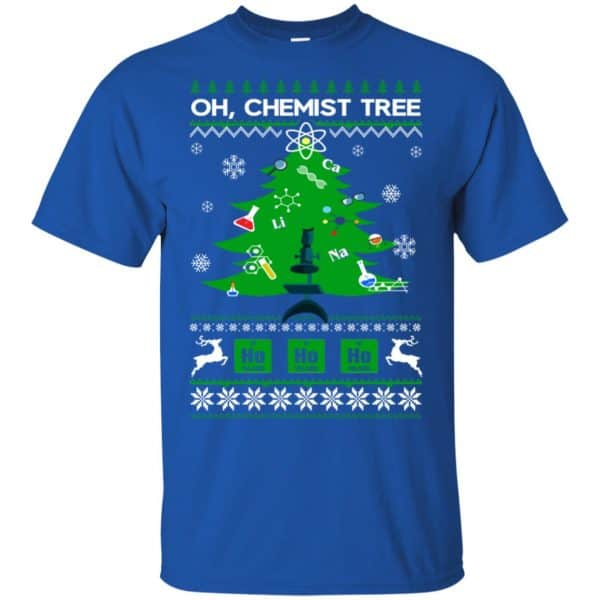 Oh Chemist Tree Ugly Christmas Sweater, T-Shirts, Hoodie Apparel 5