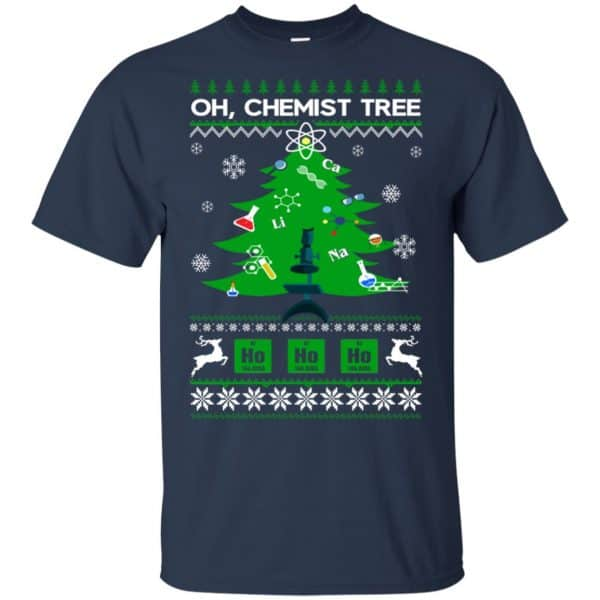Oh Chemist Tree Ugly Christmas Sweater, T-Shirts, Hoodie Apparel 6