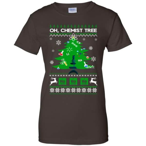 Oh Chemist Tree Ugly Christmas Sweater, T-Shirts, Hoodie Apparel 12