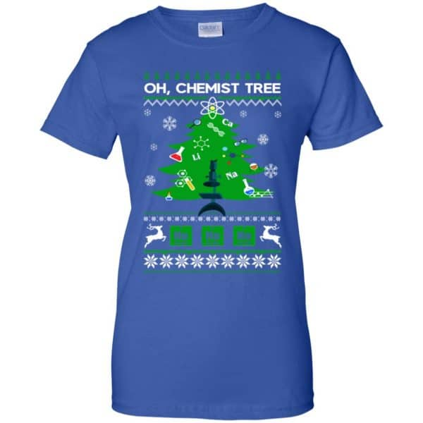 Oh Chemist Tree Ugly Christmas Sweater, T-Shirts, Hoodie Apparel 14