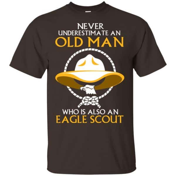 Never Underestimate An Old Man Who Is Also An Eagle Scout Shirt, Hoodie, Tank Apparel 4