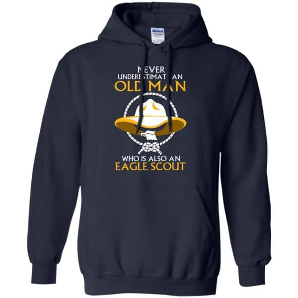 Never Underestimate An Old Man Who Is Also An Eagle Scout Shirt, Hoodie, Tank Apparel 8