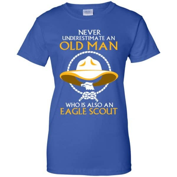 Never Underestimate An Old Man Who Is Also An Eagle Scout Shirt, Hoodie, Tank Apparel 14