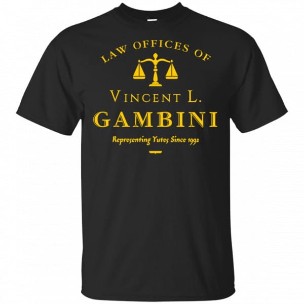 Law Offices Of Vincent L. Gambini Shirt, Hoodie, Tank