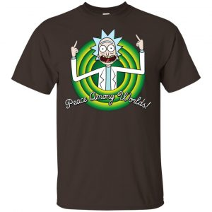 Peace Among Worlds Rick And Morty Shirt, Hoodie, Tank