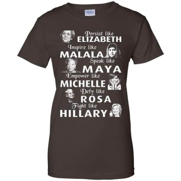 Persist Like Elizabeth Inspire Like Malala Speak Like Maya Shirt, Hoodie, Tank Apparel 12