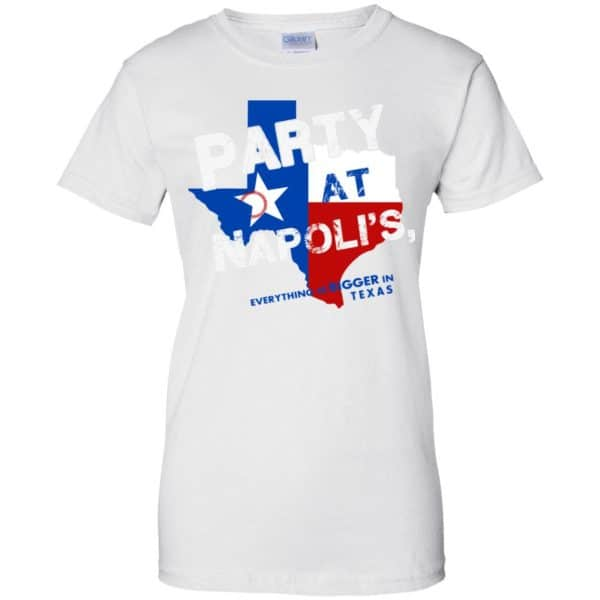 Texas Rangers: The 'Party at Napoli's Shirt, Hoodie, Tank Apparel 13