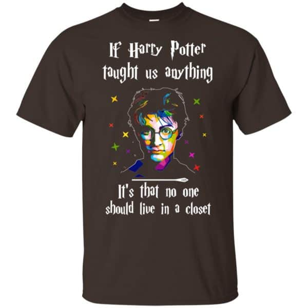 Harry Potter: If Harry Potter Taught Us Anything It's That No One Should Live In A Closet T-Shirts, Hoodie, Tank Apparel
