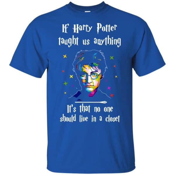 Harry Potter: If Harry Potter Taught Us Anything It's That No One Should Live In A Closet T-Shirts, Hoodie, Tank Apparel 5