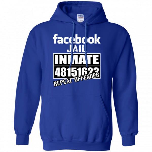 Facebook Jail Inmate 48151623 Repeat Offender Shirt, Hoodie, Tank Apparel 10