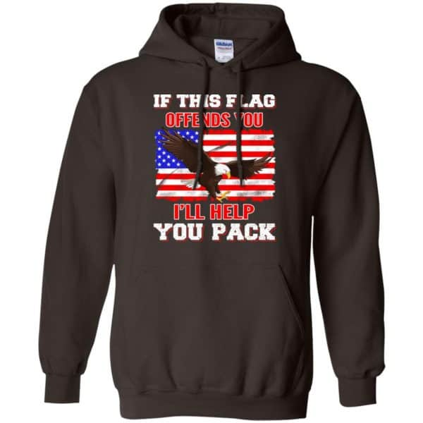 If This Flag Offends You I'll Help You Pack Shirt, Hoodie, Tank Apparel