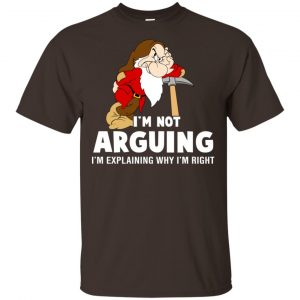 I'm Not Arguing, I'm Explaining Why I'm Right Shirt, Hoodie, Tank Apparel