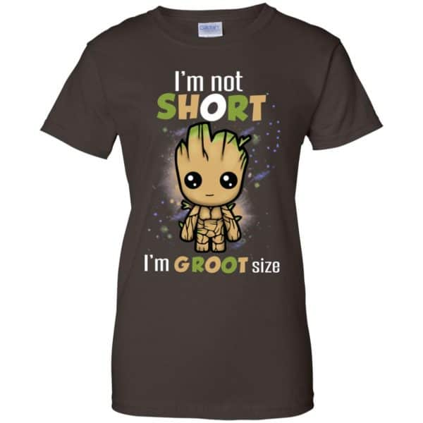 I'm Not Short I'm Groot Size Shirt, Hoodie, Tank Apparel