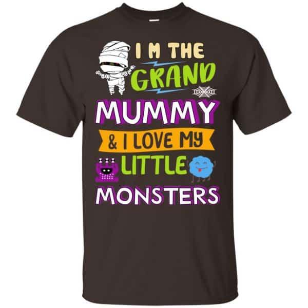 I'm The Grand Mummy & I Love My Little Monsters Shirt, Hoodie, Tank Apparel 4