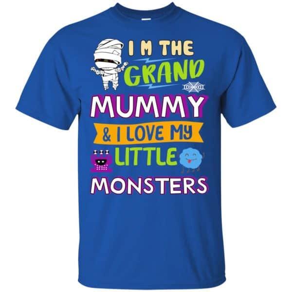 I'm The Grand Mummy & I Love My Little Monsters Shirt, Hoodie, Tank Apparel 5