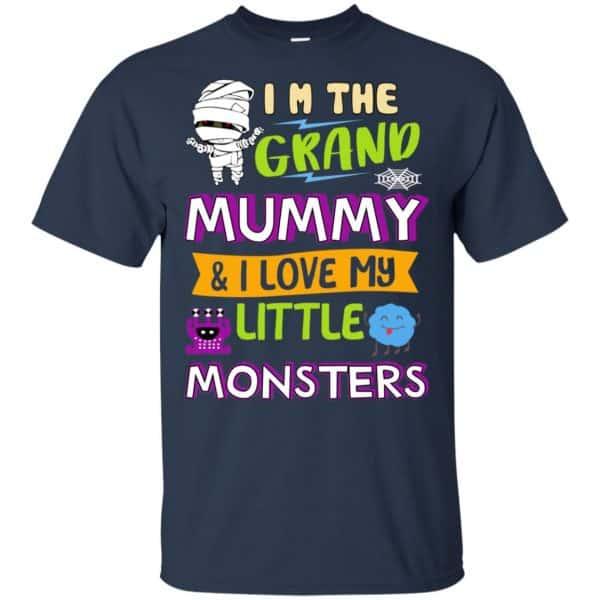 I'm The Grand Mummy & I Love My Little Monsters Shirt, Hoodie, Tank Apparel 6