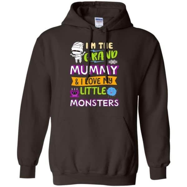 I'm The Grand Mummy & I Love My Little Monsters Shirt, Hoodie, Tank Apparel 9