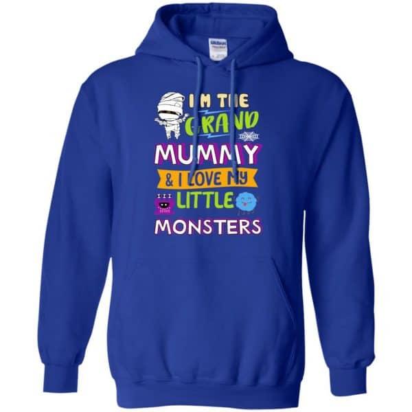 I'm The Grand Mummy & I Love My Little Monsters Shirt, Hoodie, Tank Apparel 10