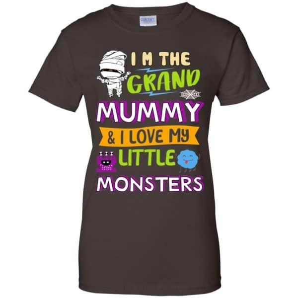 I'm The Grand Mummy & I Love My Little Monsters Shirt, Hoodie, Tank Apparel 12