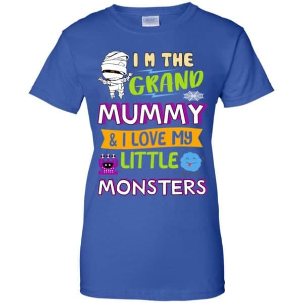 I'm The Grand Mummy & I Love My Little Monsters Shirt, Hoodie, Tank Apparel 14