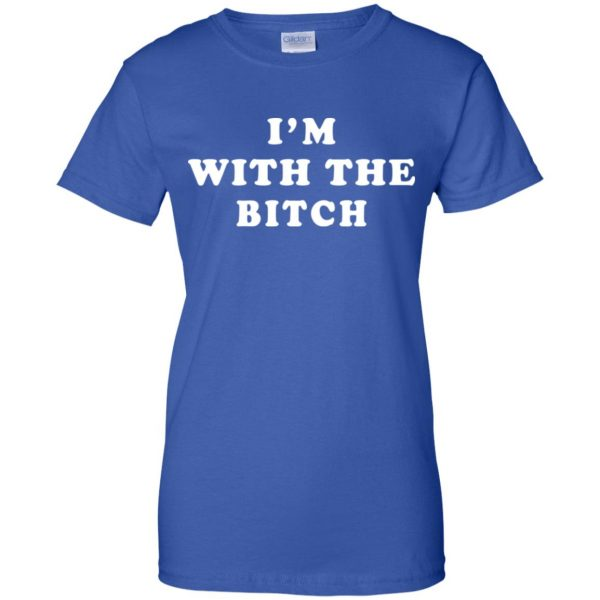 I'm With The Bitch Shirt, Hoodie, Tank Apparel 14
