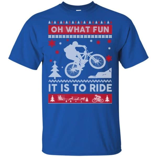 Bicycle Sweater Christmas Oh What Fun It Is To Ride T-Shirts, Hoodie, Sweater Apparel