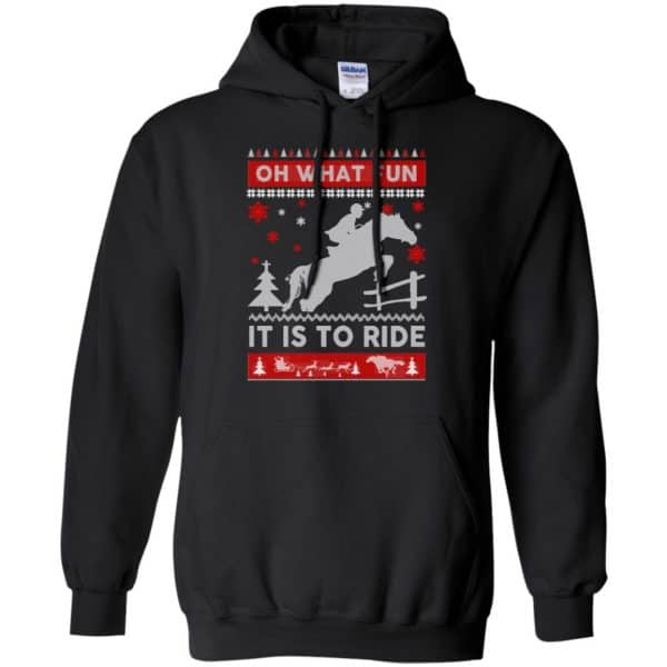 Horse Sweater Christmas Oh What Fun It Is To Ride T-Shirts, Hoodie, Sweater Apparel 7