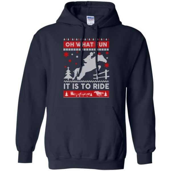Horse Sweater Christmas Oh What Fun It Is To Ride T-Shirts, Hoodie, Sweater Apparel 8