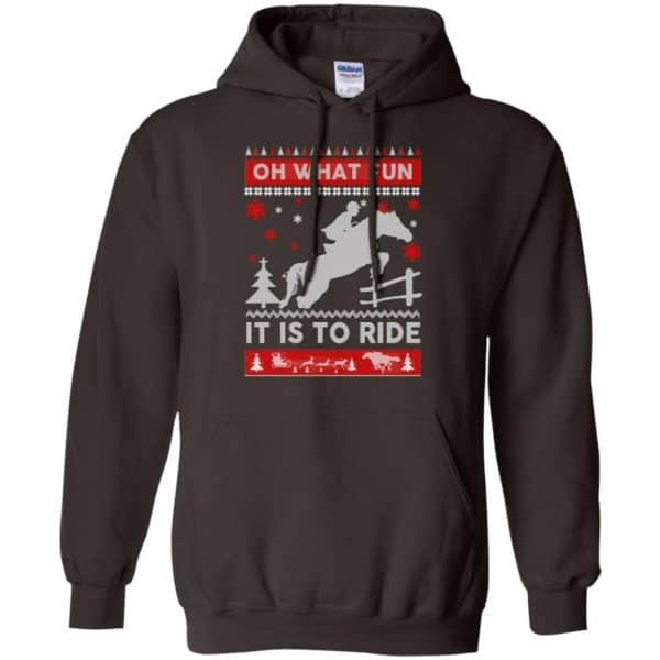 Horse Sweater Christmas Oh What Fun It Is To Ride T-Shirts, Hoodie, Sweater Apparel 9