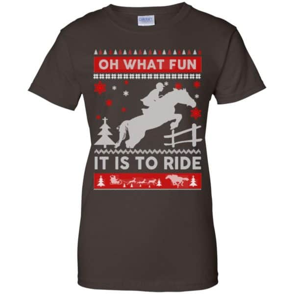 Horse Sweater Christmas Oh What Fun It Is To Ride T-Shirts, Hoodie, Sweater Apparel 12