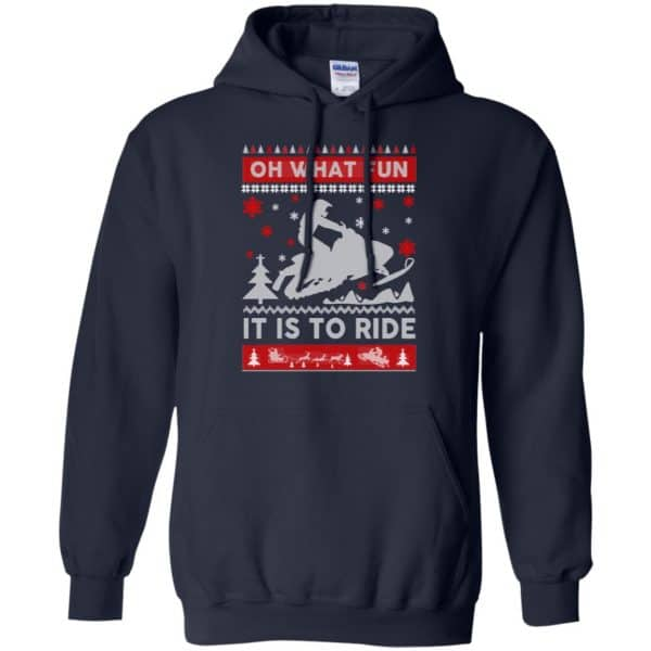 Snowmobile Sweater Christmas Oh What Fun It Is To Ride T-Shirts, Hoodie, Sweater Apparel