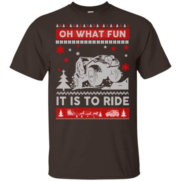 Jeep Sweater Christmas Oh What Fun It Is To Ride T-Shirts, Hoodie, Sweater Apparel 4