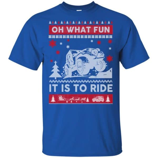 Jeep Sweater Christmas Oh What Fun It Is To Ride T-Shirts, Hoodie, Sweater Apparel 5