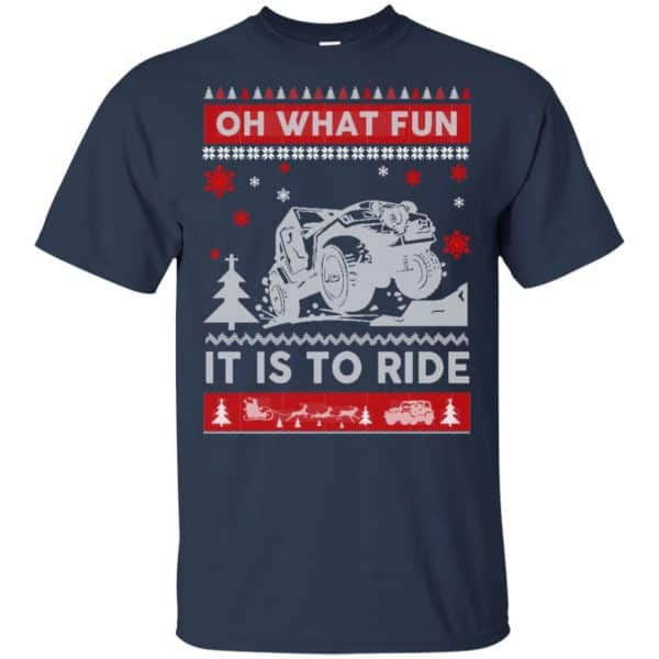 Jeep Sweater Christmas Oh What Fun It Is To Ride T-Shirts, Hoodie, Sweater Apparel 6