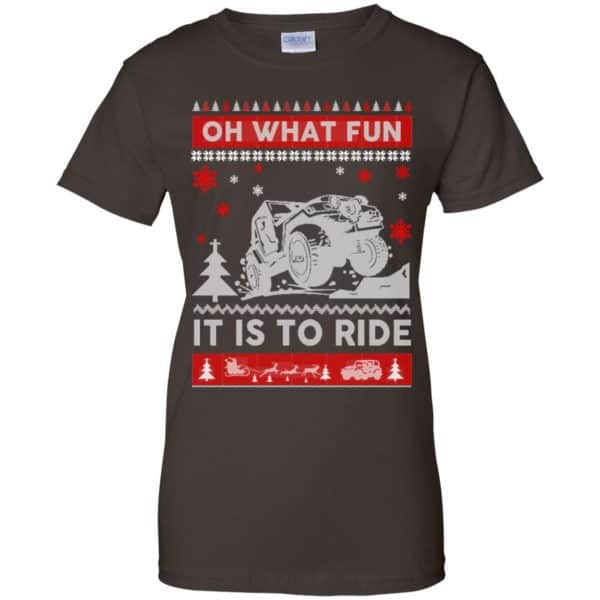 Jeep Sweater Christmas Oh What Fun It Is To Ride T-Shirts, Hoodie, Sweater Apparel 12