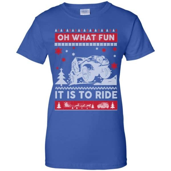 Jeep Sweater Christmas Oh What Fun It Is To Ride T-Shirts, Hoodie, Sweater Apparel 14