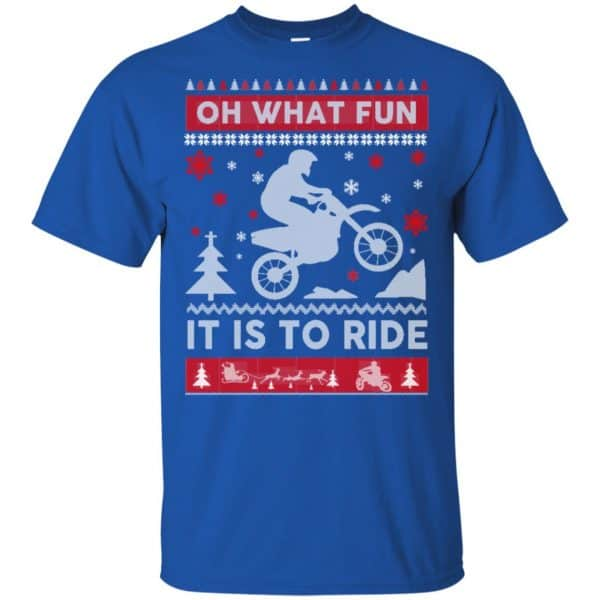 Motocross Sweater Christmas Oh What Fun It Is To Ride T-Shirts, Hoodie, Sweater Apparel 5