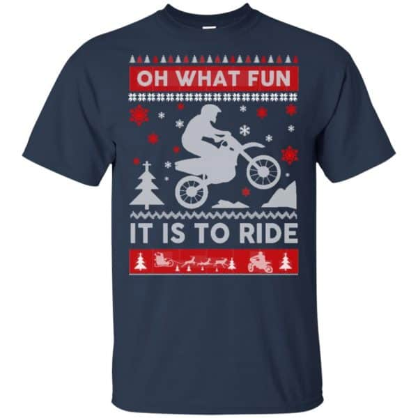 Motocross Sweater Christmas Oh What Fun It Is To Ride T-Shirts, Hoodie, Sweater Apparel 6