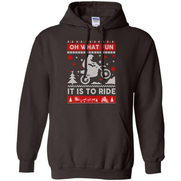 Motocross Sweater Christmas Oh What Fun It Is To Ride T-Shirts, Hoodie, Sweater Apparel 9