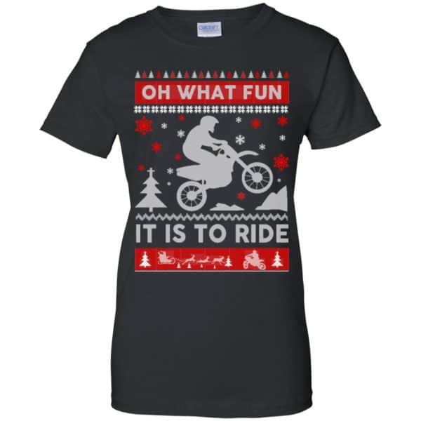 Motocross Sweater Christmas Oh What Fun It Is To Ride T-Shirts, Hoodie, Sweater Apparel 11