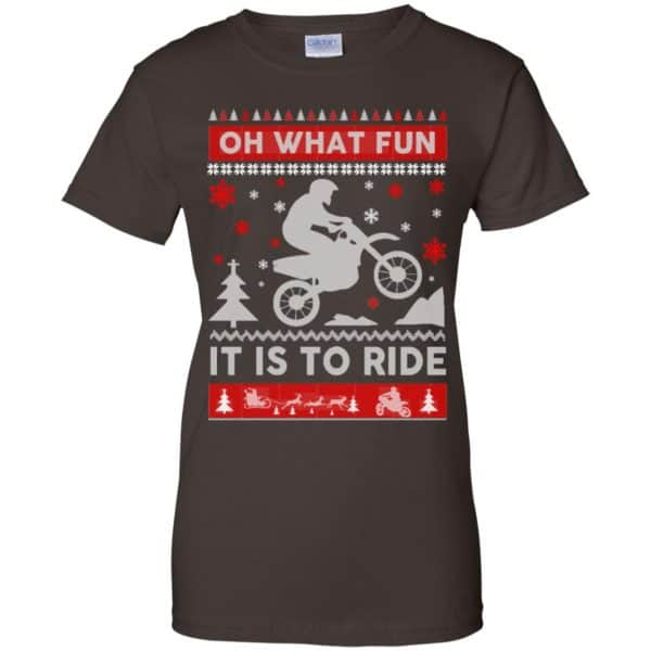 Motocross Sweater Christmas Oh What Fun It Is To Ride T-Shirts, Hoodie, Sweater Apparel 12