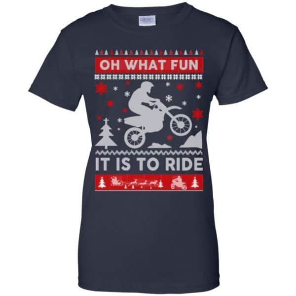 Motocross Sweater Christmas Oh What Fun It Is To Ride T-Shirts, Hoodie, Sweater Apparel 13
