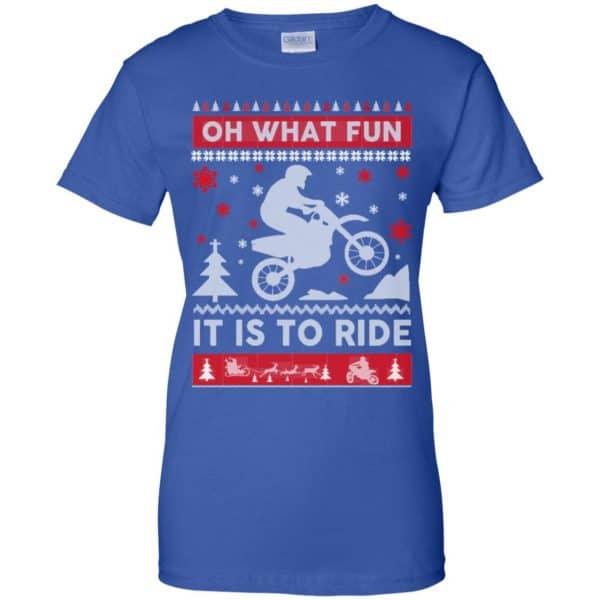Motocross Sweater Christmas Oh What Fun It Is To Ride T-Shirts, Hoodie, Sweater Apparel 14