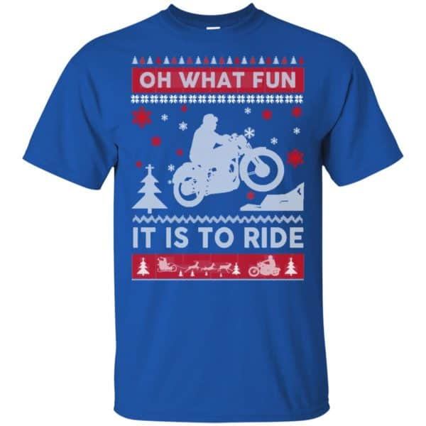Motorcycle Sweater Christmas Oh What Fun It Is To Ride T-Shirts, Hoodie, Sweater Apparel 5