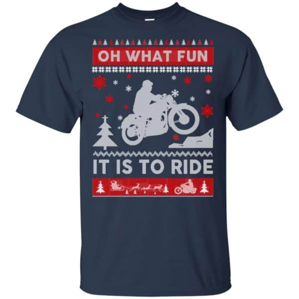 Motorcycle Sweater Christmas Oh What Fun It Is To Ride T-Shirts, Hoodie, Sweater Apparel 6