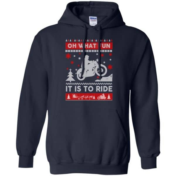 Motorcycle Sweater Christmas Oh What Fun It Is To Ride T-Shirts, Hoodie, Sweater Apparel 8