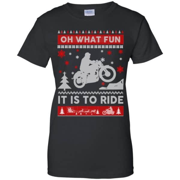 Motorcycle Sweater Christmas Oh What Fun It Is To Ride T-Shirts, Hoodie, Sweater Apparel 11